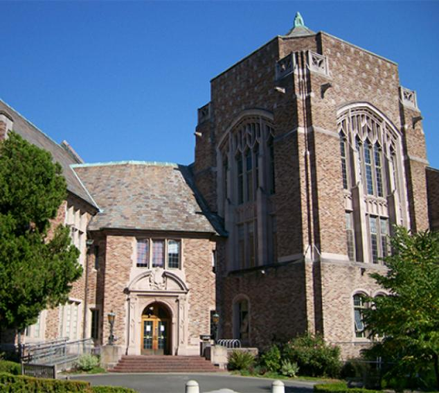 Exterior view of Hutchinson Hall