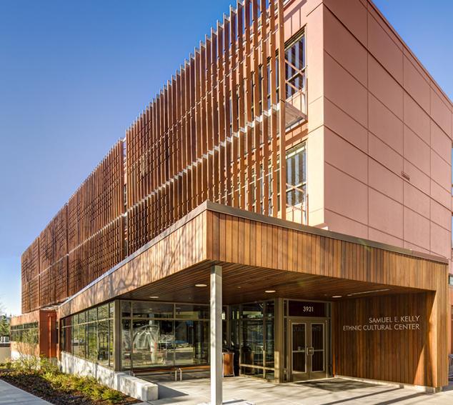 Samuel E. Kelly Ethnic Cultural Center - Exterior View